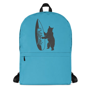 Bear With California Surfboard - Backpack