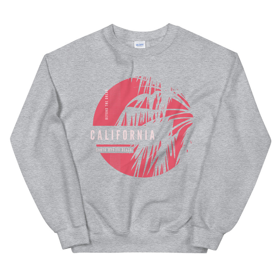 Santa Monica Beach - Women's Crewneck Sweatshirt