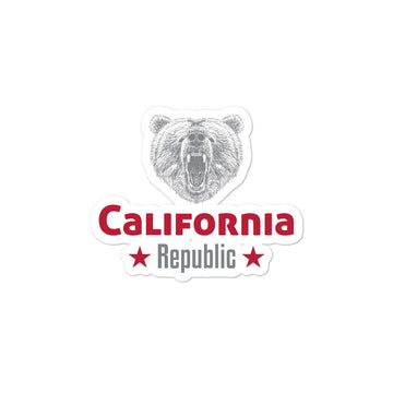 California Grizzly Bear - Sticker