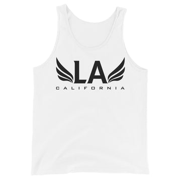 Los Angeles With Wings - Men's Tank Top