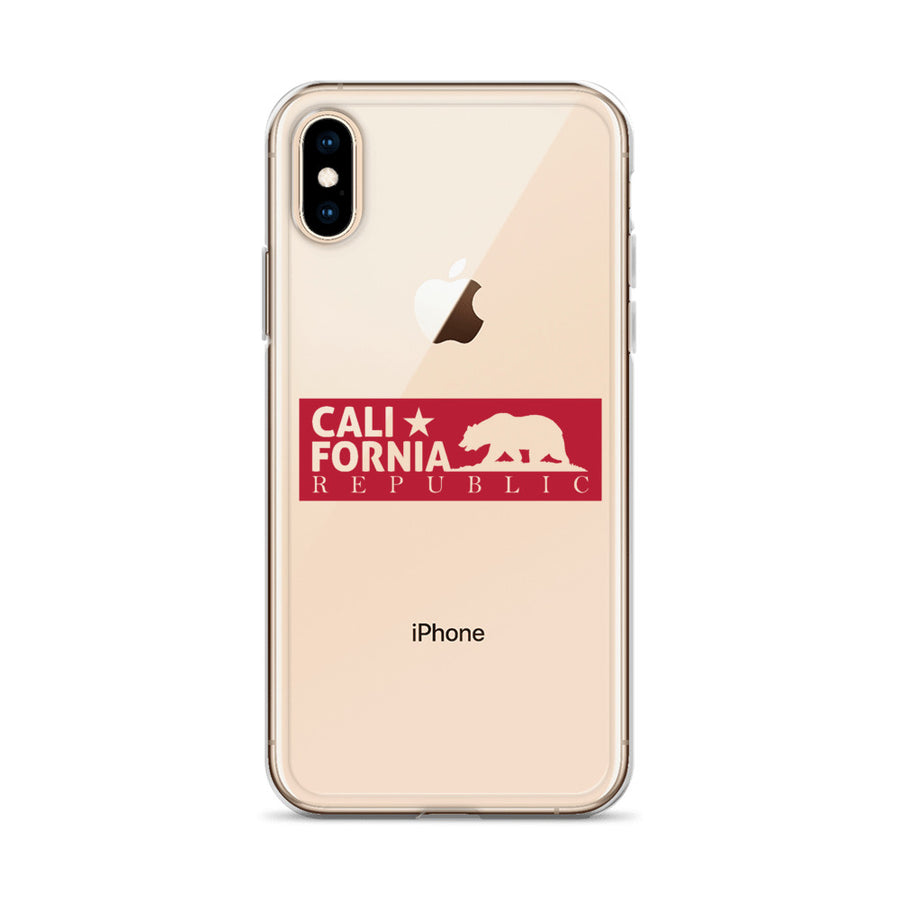 Original California Republic Bear - iPhone Case