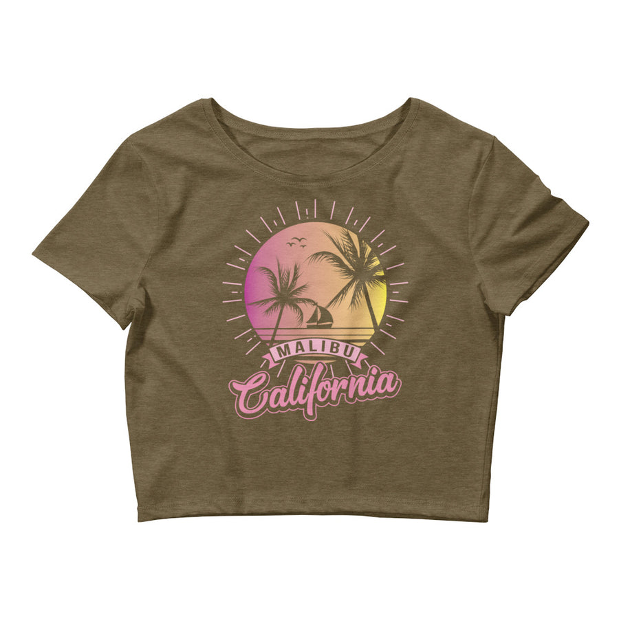 Malibu Californa - Women's Crop Top