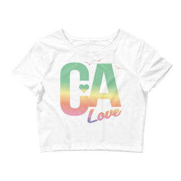 Sweet California Love - Women's Crop Top