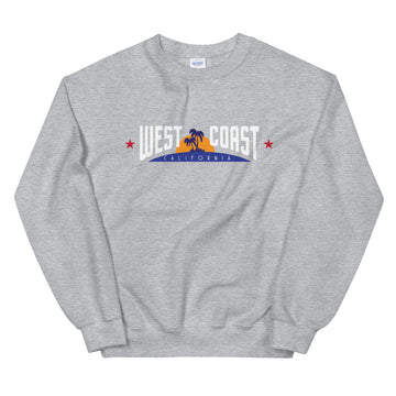 California West Coast - Men's Crewneck Sweatshirt
