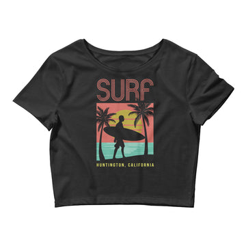 Surf Huntington - Women's Crop Top