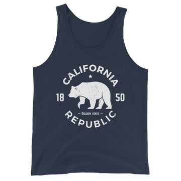 California Republic 1850 - Men's Tank Top
