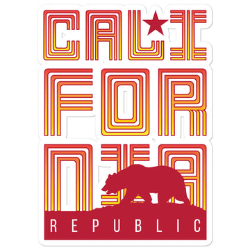 Republic of California - Stickers