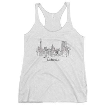 Hand Drawn San Francisco - Women's Tank Top