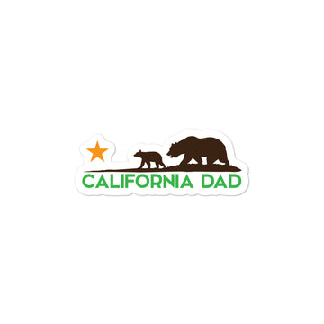 California Dad - Sticker