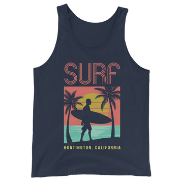 Surf Huntington - Men's Tank Top