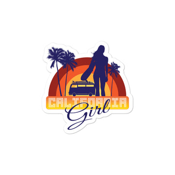 Original California Girl - Stickers