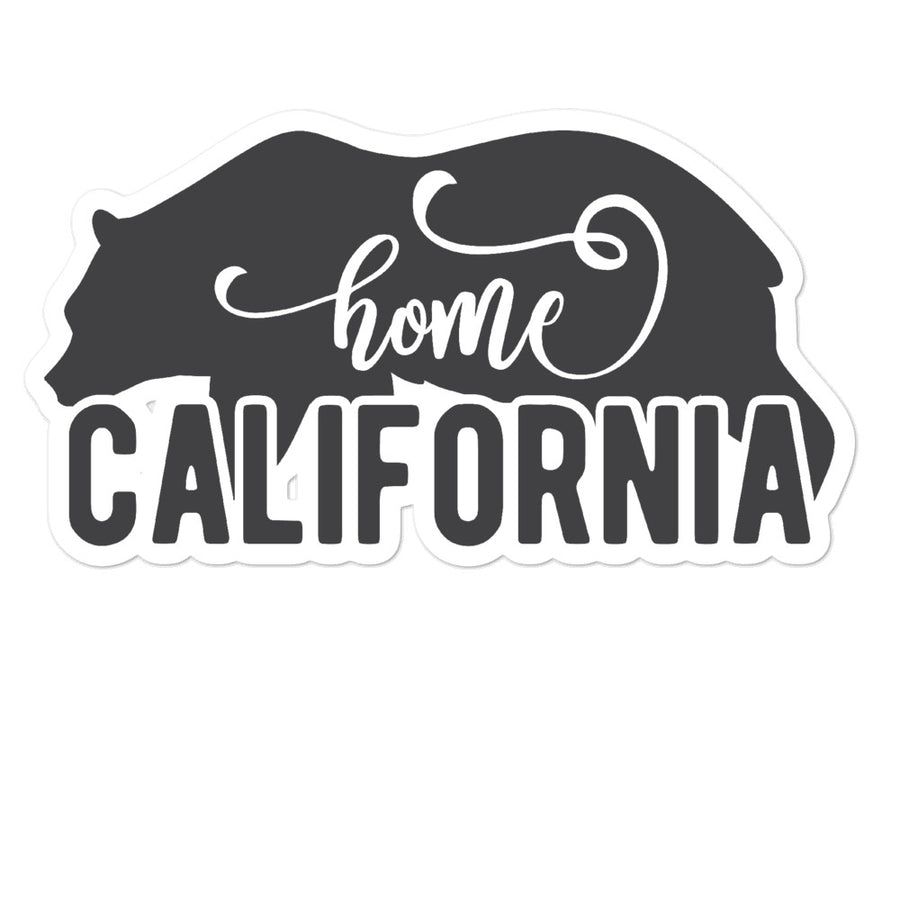 California Home Bear - Stickers
