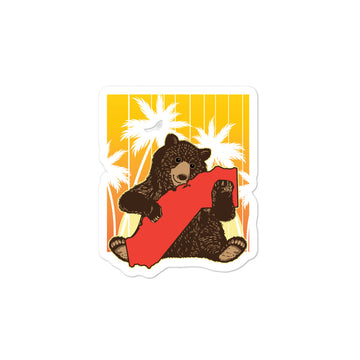 California Bear Hug - Stickers