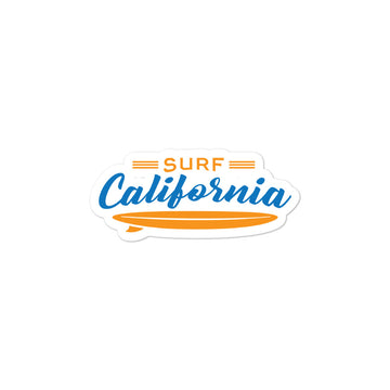 Surf California -  Sticker
