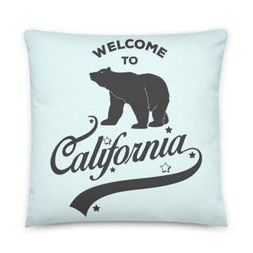 Welcome to California - Throw Pillow