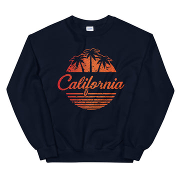 California Vintage Classic - Men's Crewneck Sweatshirt