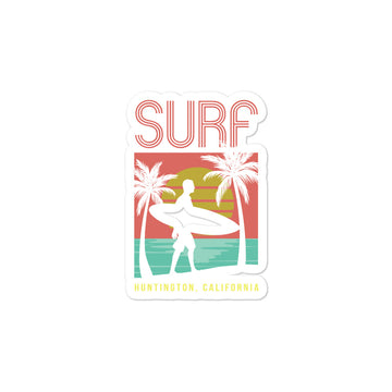 Surf Huntington -Stickers