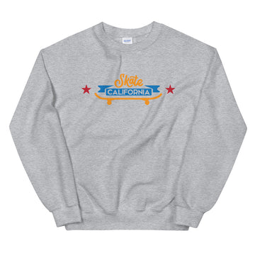 Skate California - Men's Crewneck Sweatshirt
