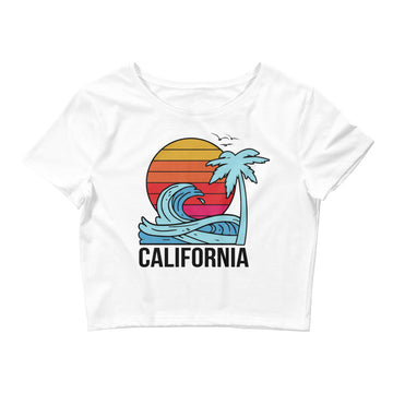 California Sunset - Women's Crop Top