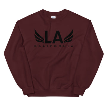 Los Angeles With Wings - Men's Crewneck Sweatshirt