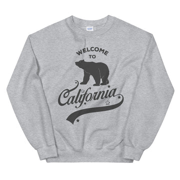 Welcome to California - Men's Crewneck Sweatshirt