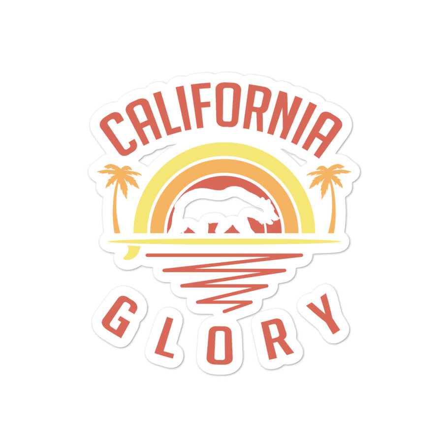 California Glory Bear - Sticker