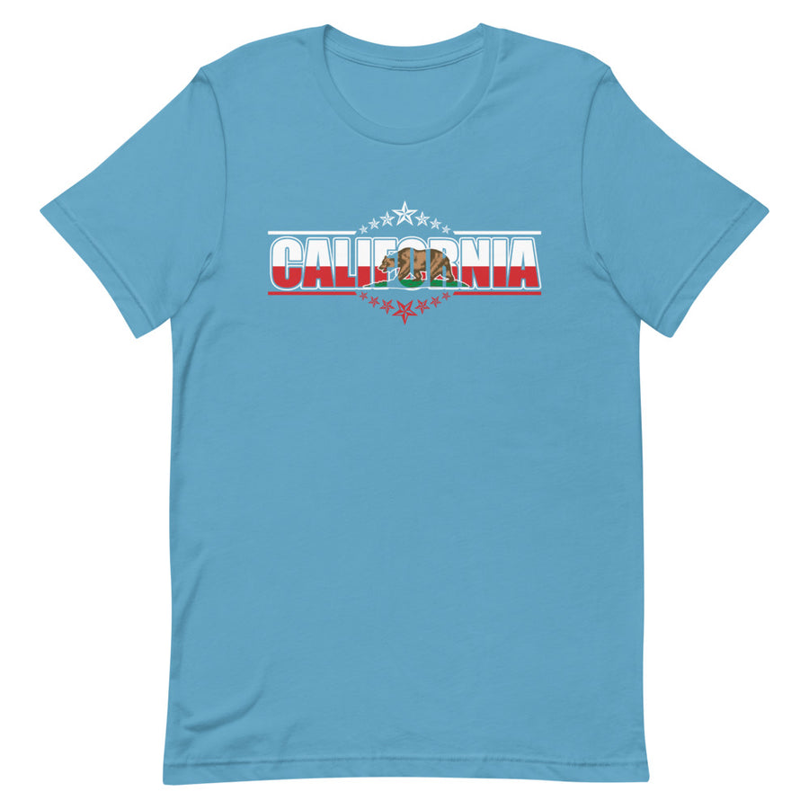 Patriotic Californian - Women's T-Shirt