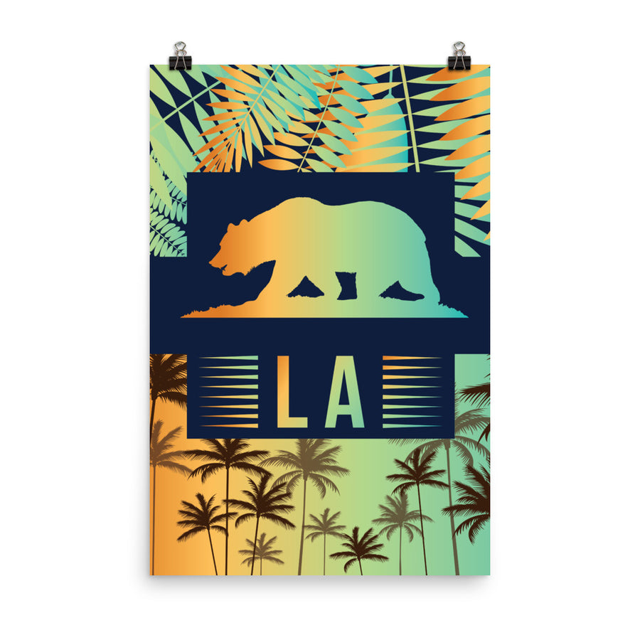 West Coast California - Poster