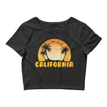 Classic California Beach - Women's Crop Top