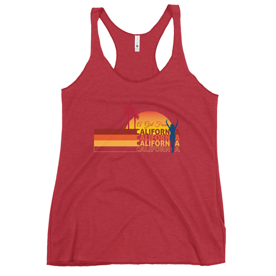 Girl From California - Women's Tank Top