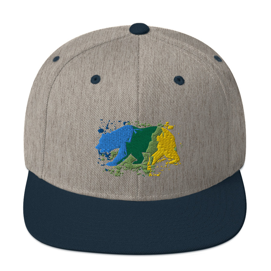 CALIFORNIA COAST BEAR BLUE - HAT