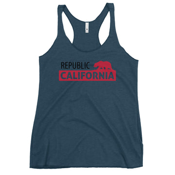 California Republic Bear Classic - Women's Tank Top