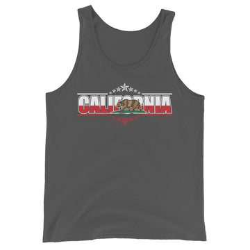 Patriotic Californian - Men's Tank Top