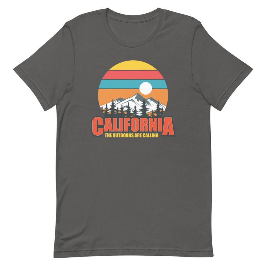 California The Outdoors Are Calling - Men's T-Shirt