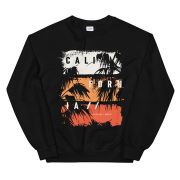 California Ocean Side - Men's Crewneck Sweatshirt