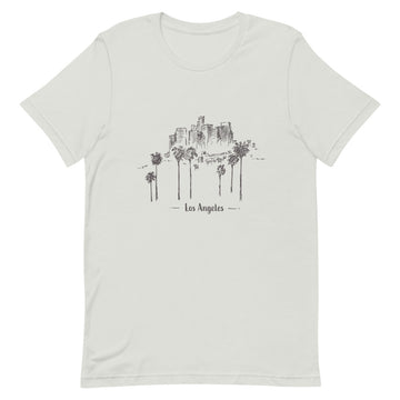 Hand Drawn Los Angeles - Men's T-Shirt