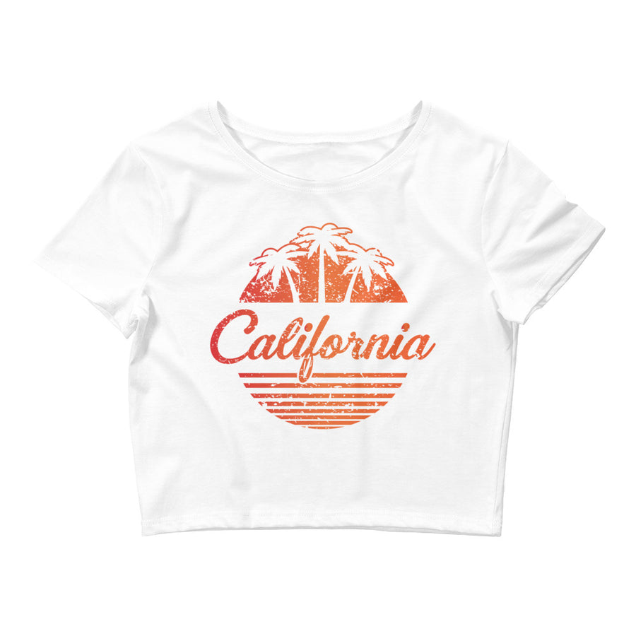 California Vintage Classic - Women's Crop Top