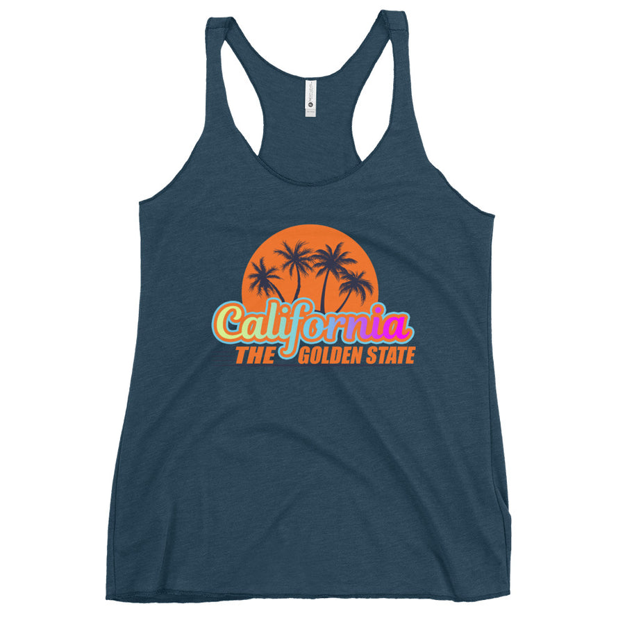 California The Golden State - Women's Tank Top