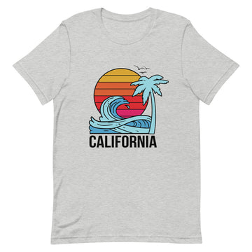 California Sunset - Men's T-Shirt