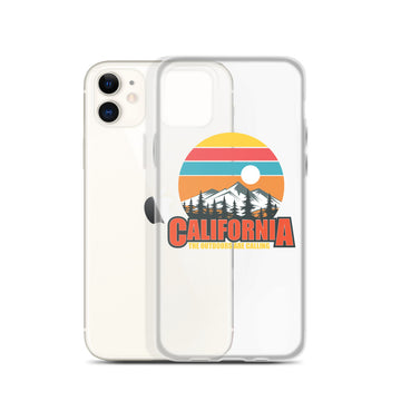 California The Outdoors Are Calling - iPhone Case