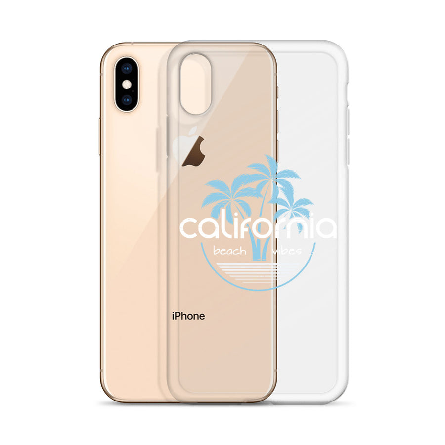 California Beach Vibes - iPhone Case