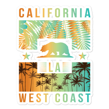West Coast California - Stickers