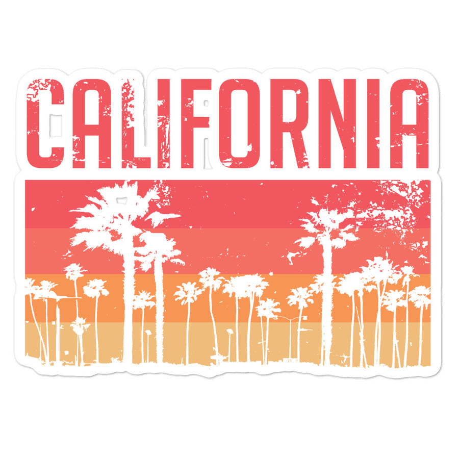 California Vintage Palms - Sticker