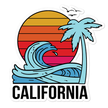California Sunset - Stickers
