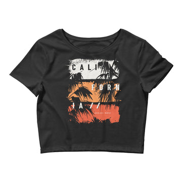 California Ocean Side - Women's Crop Top