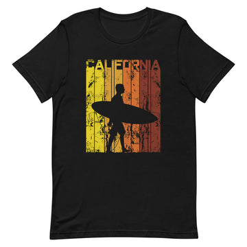 California Surfer Bear - Men's T-Shirt