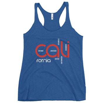 Cali Cities - Women's Tank Top