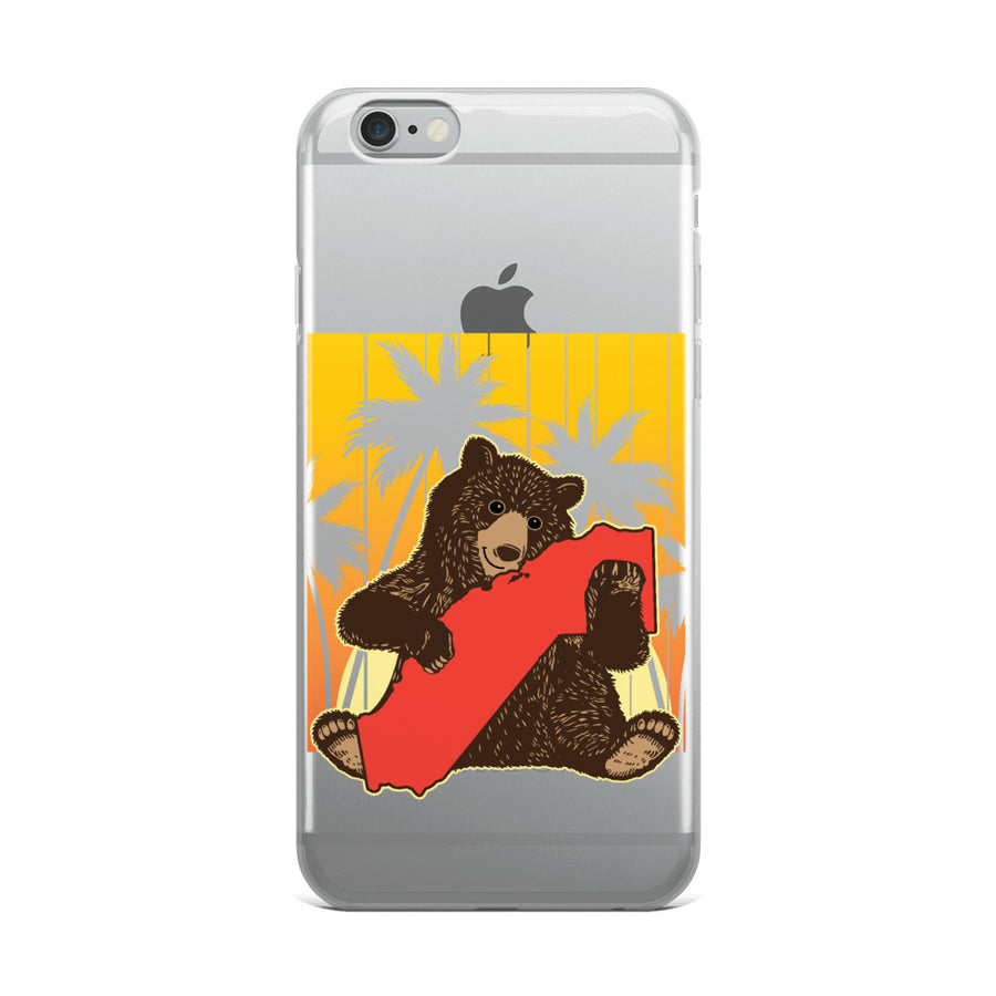 California Bear Hug - iPhone Case