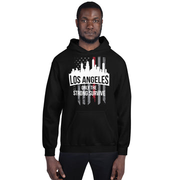 Los Angeles Only The Strong Survive Hoodie