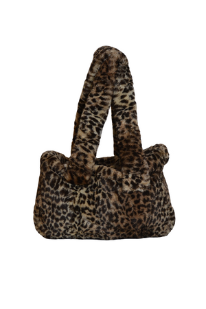 Load image into Gallery viewer, CHEETAH PUFF TOTE